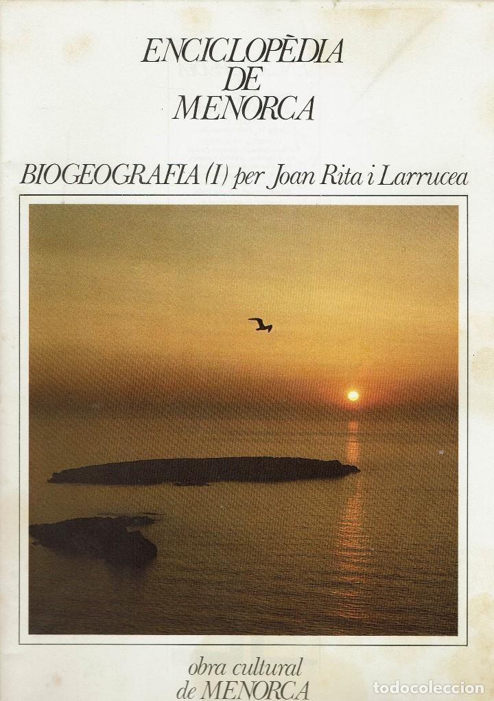 BIOGEOGRAFIA (I), PER JOAN RITA I LARRUCEA. AÑO 1979. (MENORCA.6.8) (Libros de Segunda Mano - Enciclopedias)