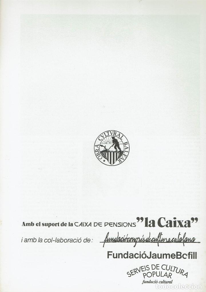 Enciclopedias de segunda mano: BIOGEOGRAFIA (I), PER JOAN RITA I LARRUCEA. AÑO 1979. (MENORCA.6.8) - Foto 2 - 170950315