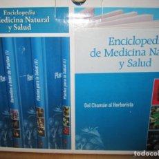 Enciclopedias de segunda mano: ENCICLOPEDIA DE MEDICINA NATURAL Y SALUD. COMPLETA 10 TOMOS Y 6 DVD'S. Lote 171085440