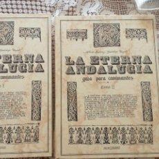 Enciclopedias de segunda mano: LA ETERNA ANDALUCÍA GUÍA PARA CAMINANTES DOS TOMOS. Lote 171405363