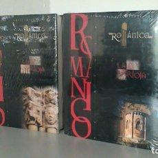 Enciclopedias de segunda mano: ENCICLOPEDIA DEL ROMANICO EN LA RIOJA. TOMOS I Y II. SANTA MARIA LA REAL. SIN DESPRECINTAR.. Lote 171824230