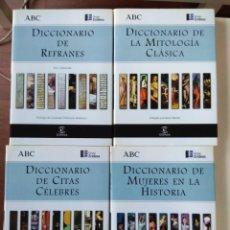 Enciclopedias de segunda mano: LOTE, COLECCION. ABC. DICCIONARIOS 12 TOMOS. Lote 171882975