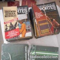 Enciclopedias de segunda mano: ENCICLOPEDIA SALVAT DE LOS DEPORTES. 1979. 13 TOMOS. 168 FASCÍCULOS. PARA ENCUADERNAR. Lote 172017722
