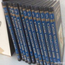 Enciclopedias de segunda mano: GRAN ENCICLOPEDIA MEDICA. 12 TOMOS COMPLETA. EDITORIAL SARPE 1983. Lote 172020548