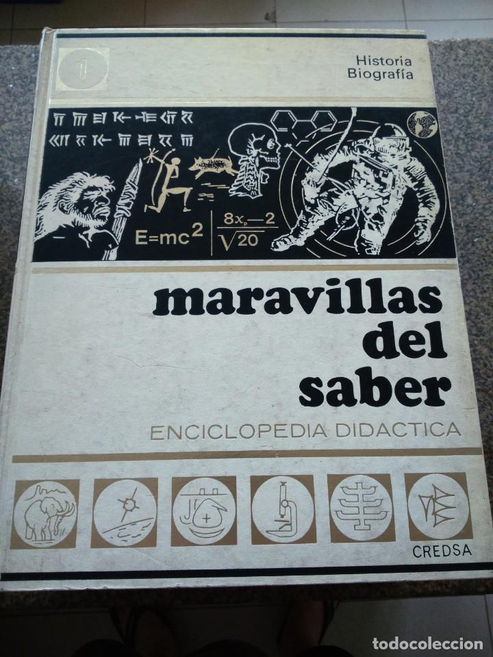 Enciclopedias de segunda mano: MARAVILLAS DEL SABER - ENCICLOPEDIA DIDACTICA -- CREDSA 1975 -- 10 TOMOS -- - Foto 2 - 172096415