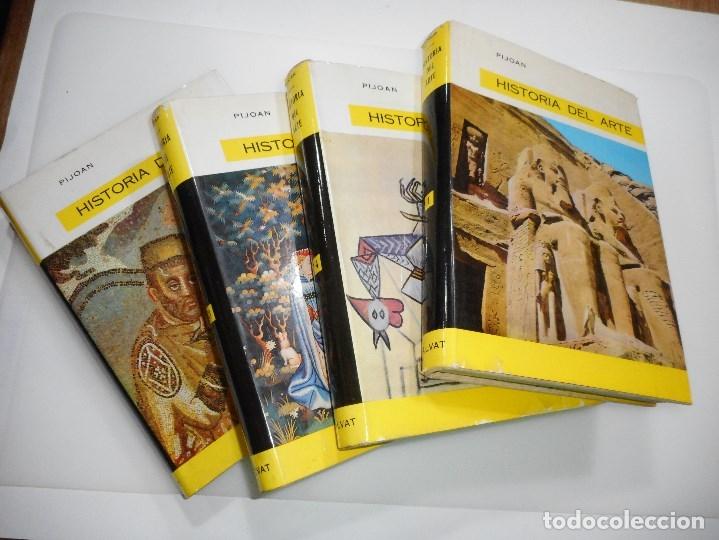PIJOAN#HISTORIA DEL ARTE (4 TOMOS) Y95333 (Libros de Segunda Mano - Enciclopedias)