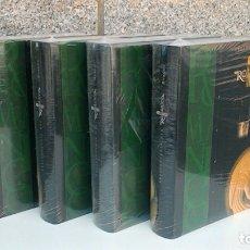 Enciclopedias de segunda mano: ENCICLOPEDIA DEL ROMANICO CASTILLA LEON,BURGOS I, II, III, IV. SANTA MARIA LA REAL.SIN DESPRECINTAR. Lote 172301750