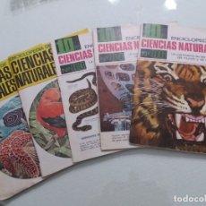 Enciclopedias de segunda mano: LOTE 5 FASCÍCULOS ENCICLOPEDIA DE CIENCIAS NATURALES.BRUGUERA. NºS 4-5-83-84-86. 1969 Y 1967.. Lote 172945243