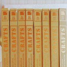 Enciclopedias de segunda mano: CRAFTS. ENCICLOPEDIA DE ARTES CREATIVAS. 8 TOMOS. MÁS-IVARS EDITORES. AÑO 1978. Lote 173193169