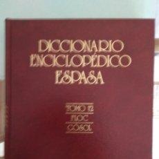 Enciclopedias de segunda mano: DICCIONARIO ENCICLOPÉDICO ESPASA / 24 TOMOS. Lote 173905614