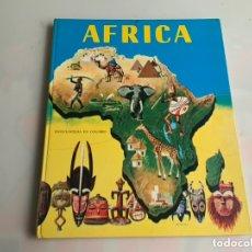 Enciclopedias de segunda mano: AFRICA , ENCICLOPEDIA EN COLORES /ILUSTRACIONES: H. B. VESTAL - EDITA : TIMUN MAS 1964. Lote 119324086