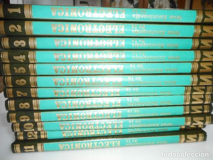 VV.AA GRAN ENCICLOPEDIA DE LA ELECTRÓNICA (12 TOMOS) Y95658 (Libros de Segunda Mano - Enciclopedias)