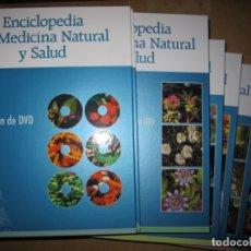 Enciclopedias de segunda mano: ENCICLOPEDIA DE MEDICINA NATURAL Y SALUD. RUEDA. COMPLETA 10 TOMOS Y 6 DVD'S. Lote 174961697