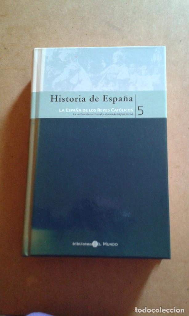 HISTORIA DE ESPAÑA TOMO 5 BIBLIOTECA EL MUNDO (Libros de Segunda Mano - Enciclopedias)