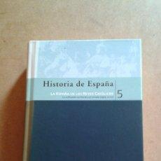 Enciclopedias de segunda mano: HISTORIA DE ESPAÑA TOMO 5 BIBLIOTECA EL MUNDO . Lote 175372977