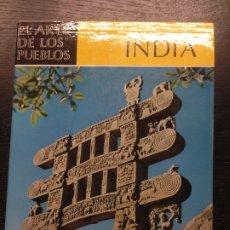 Enciclopedias de segunda mano: INDIA. EL ARTE DE LOS PUEBLOS, GOETZ, HERMANN, 1961. Lote 175654829