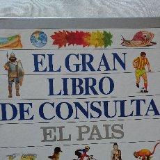 Enciclopedias de segunda mano: GRAN LIBRO DE CONSULTA EL PAIS. Lote 176018623