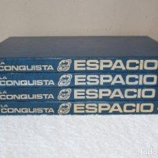Enciclopedias de segunda mano: LA CONQUISTA DEL ESPACIO (4 TOMOS) - EDICIONES NUEVA LENTE 1984. Lote 176588115