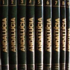 Enciclopedias de segunda mano: GRAN ENCICLOPEDIA DE ANDALUCIA. 10 TOMOS.. Lote 176675909