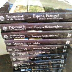 Enciclopedias de segunda mano: ENCICLOPEDIA PATRIMONIO DE LA HUMANIDAD UNESCO /PLANETA - 16 TOMOS - ENM. Lote 177979710