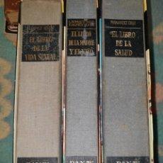 Enciclopedias de segunda mano: LOTE 3 LIBROS DE EDITORIAL DANAE. Lote 178381983