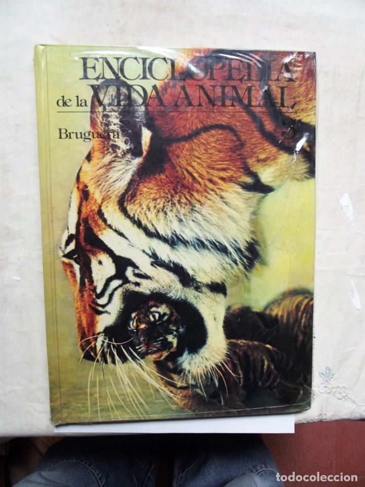 ENCICLOPEDIA DE LA VIDA ANIMAL Nº 3 EDITORIAL BRUGUERA (Libros de Segunda Mano - Enciclopedias)