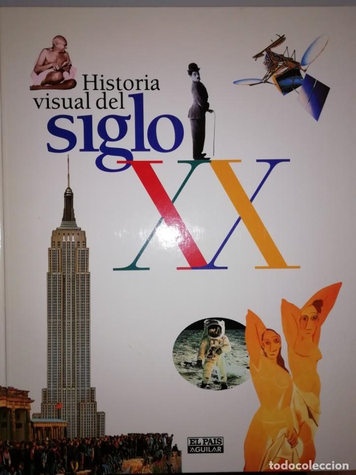 Enciclopedias de segunda mano: HISTORIA VISUAL DEL SIGLO XX EDITADA POR AGUILAR CON EL PAIS-ENCUADERNADA - Foto 3 - 178768845