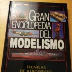 Enciclopedias de segunda mano: GRAN ENCICLOPEDIA DEL MODELISMO. TÉCNICAS DE AEROGRAFO (NUEVA LENTE). Lote 179114216