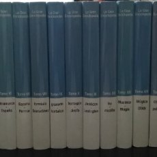 Enciclopedias de segunda mano: LA GRAN ENCICLOPEDIA, OBRA COMPLETA EN XX TOMOS. VOCENTO. Lote 189897463
