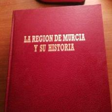 Enciclopedias de segunda mano: LA REGION DE MURCIA Y SU HISTORIA. LA OPINION. 4 TOMOS. Lote 180848948