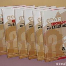 Enciclopedias de segunda mano: GRAN ENCICLOPEDIA DEL SABER ACTUAL. PLANETA DE AGOSTINI. 2003. 6 TOMOS. ENTERO.. Lote 180889361