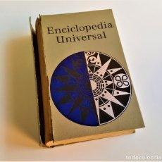 Enciclopedias de segunda mano: 1958 ENCICLOPEDIA UNIVERSAL ILUSTRADA - 13X20X4.CM. Lote 180979188