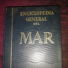 Enciclopedias de segunda mano: ENCICLOPEDIA GENERAL DEL MAR 8 TOMOS COMPLETA. Lote 182408155