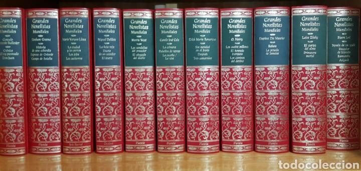 PRIMERA EDICIÓN ESPECIAL PARA PLANETA. GRANDES NOVELISTAS MUNDIALES (Libros de Segunda Mano - Enciclopedias)