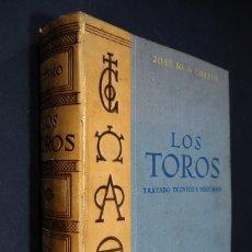 Enciclopedias de segunda mano: JOSÉ Mª DE COSSÍO. LOS TOROS. TRATADO TÉCNICO E HISTÓRICO. TOMO I. ESPASA CALPE 1943. Lote 182473523