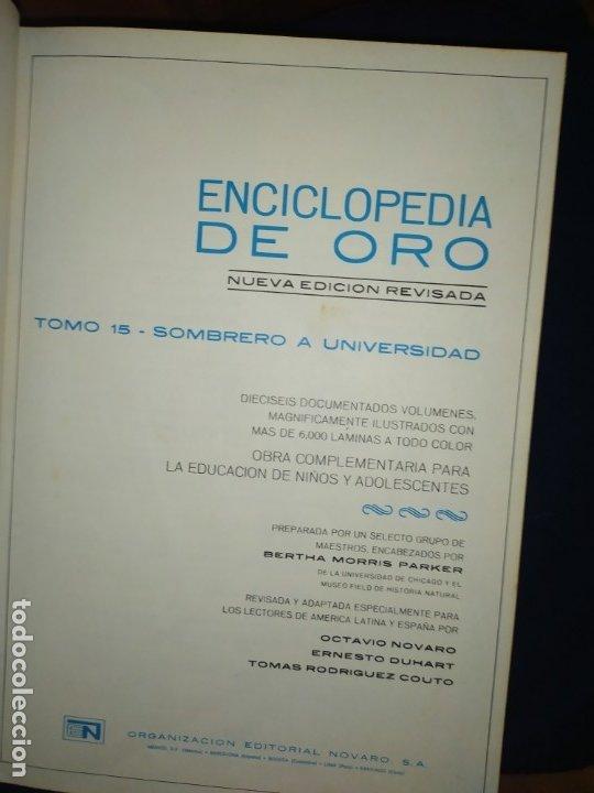 Enciclopedias de segunda mano: ENCICLOPEDIA DE ORO BERTHA MORRIS PARKER 1972/1973 NOVARO DUHART COUTO - Foto 22 - 182549035