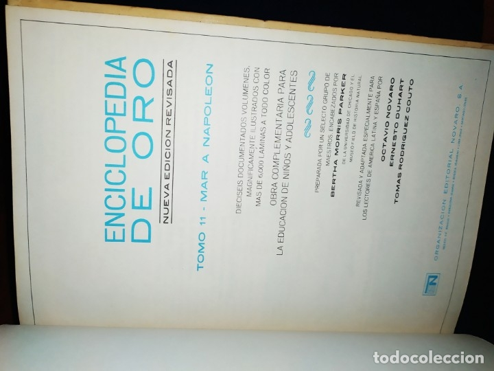 Enciclopedias de segunda mano: ENCICLOPEDIA DE ORO BERTHA MORRIS PARKER 1972/1973 NOVARO DUHART COUTO - Foto 64 - 182549035