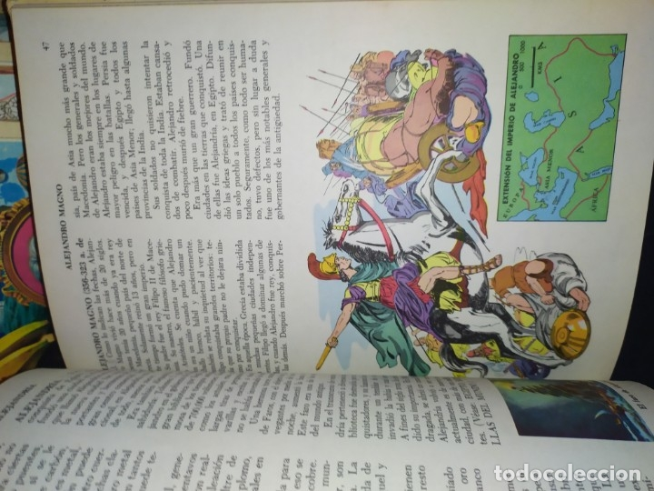 Enciclopedias de segunda mano: ENCICLOPEDIA DE ORO BERTHA MORRIS PARKER 1972/1973 NOVARO DUHART COUTO - Foto 101 - 182549035