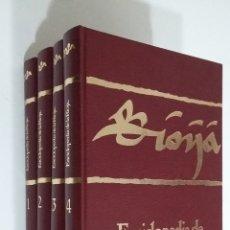 Enciclopedias de segunda mano: ENCICLOPEDIA DE LA RIOJA H.E.S.A. FRANCISCO MARTÍN LOSA. 4 TOMOS VOLUMENES. TDKLT3. Lote 182967275