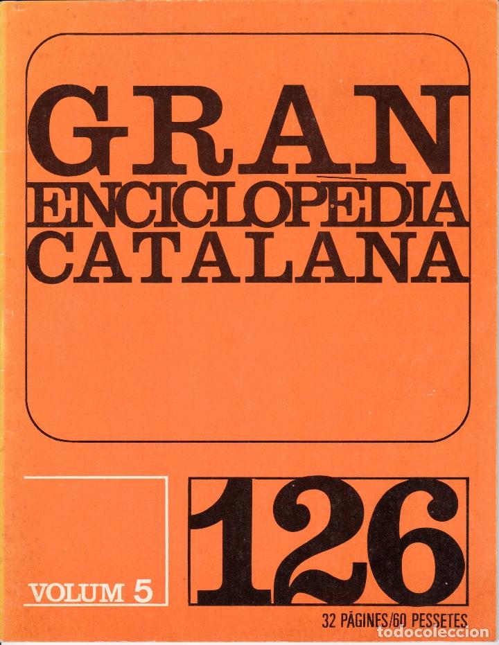 GRAN ENCICLOPEDIA CATALANA FASCÍCULO 126 COSTA-COURE (Libros de Segunda Mano - Enciclopedias)