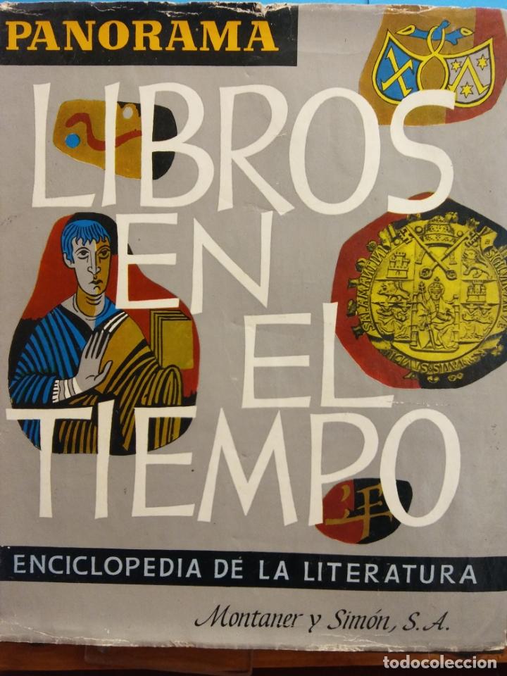 LIBROS EN EL TIEMPO. ENCICLOPEDIA DE LA LITERATURA. EDITORIAL MONTANER Y SIMÓN S.A. (Libros de Segunda Mano - Enciclopedias)