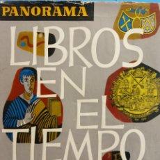 Enciclopedias de segunda mano: LIBROS EN EL TIEMPO. ENCICLOPEDIA DE LA LITERATURA. EDITORIAL MONTANER Y SIMÓN S.A.. Lote 182979557