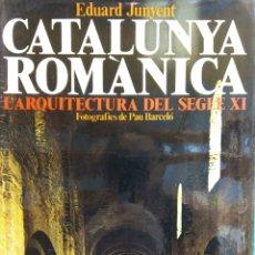 Enciclopedias de segunda mano: CATALUNYA ROMÀNICA. L'ARQUITECTURA DEL SEGLE XI. EDUARD JUNYENT. PUBLICACIONS L'ABADIA DE MONTSERRAT. Lote 182979671