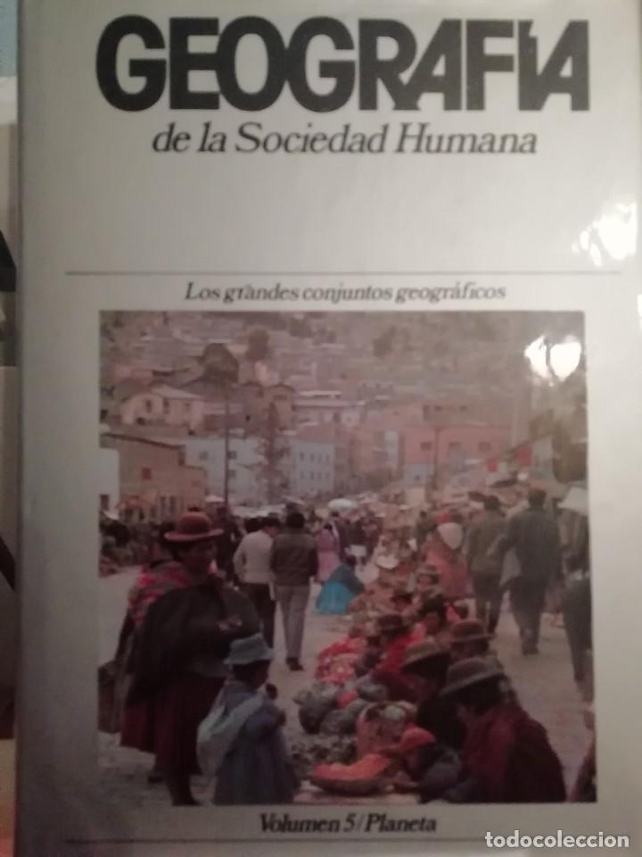 Enciclopedias de segunda mano: GEOGRAFÍA DE LA SOCIEDAD HUMANA. PLANETA. 8 TOMOS. 1982 - Foto 2 - 183481886