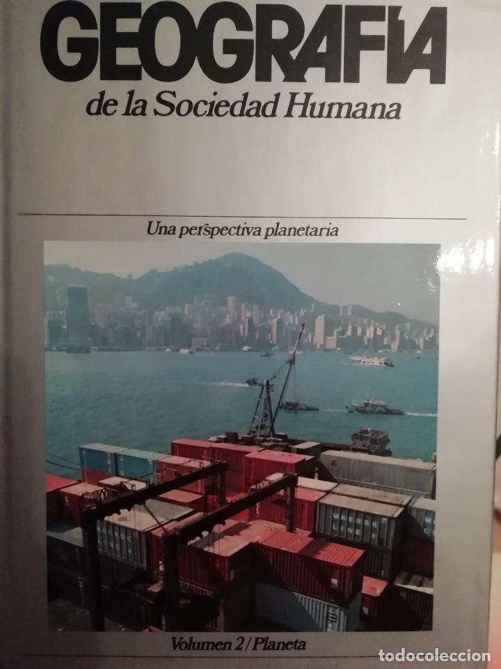 Enciclopedias de segunda mano: GEOGRAFÍA DE LA SOCIEDAD HUMANA. PLANETA. 8 TOMOS. 1982 - Foto 3 - 183481886