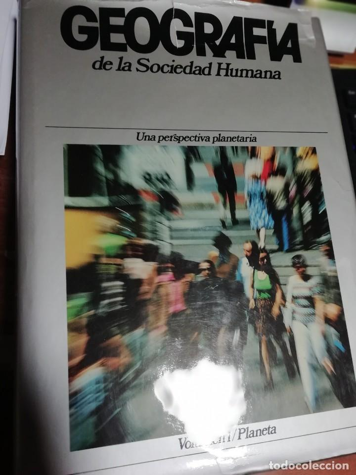Enciclopedias de segunda mano: GEOGRAFÍA DE LA SOCIEDAD HUMANA. PLANETA. 8 TOMOS. 1982 - Foto 7 - 183481886