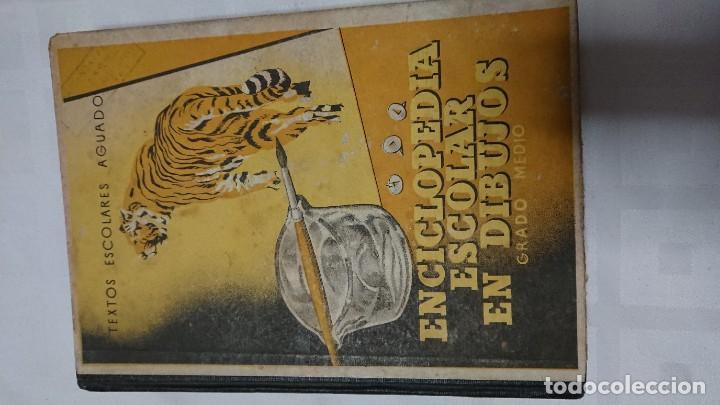 Enciclopedias de segunda mano: ENCICLOPEDIA ESCOLAR EN DIBUJOS GRADO ELEMENTAL, MEDIO Y SUPERIOR - Foto 5 - 183517355