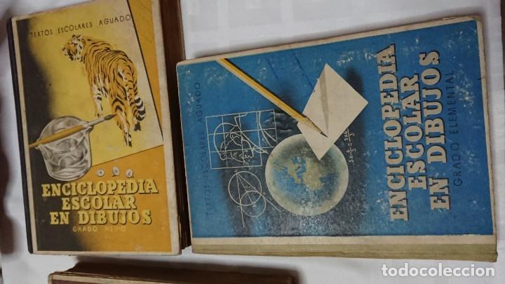 Enciclopedias de segunda mano: ENCICLOPEDIA ESCOLAR EN DIBUJOS GRADO ELEMENTAL, MEDIO Y SUPERIOR - Foto 13 - 183517355
