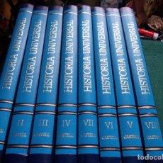 Enciclopedias de segunda mano: HISTORIA UNIVERSAL EDICIONES CASTELL 1989. Lote 183835716