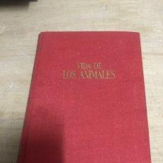 Enciclopedias de segunda mano: VIDA DE LOS ANIMALES. Lote 184191883